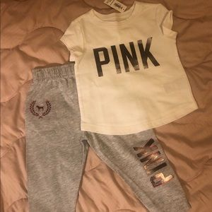 Pink inspired toddler outfit!!